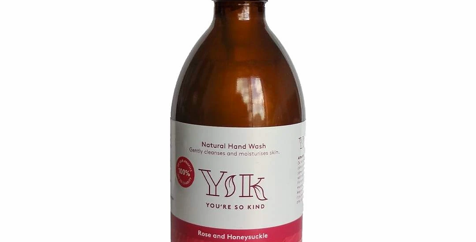 Hand Wash - Rose and Honeysuckle (300ml) by You're so Kind
