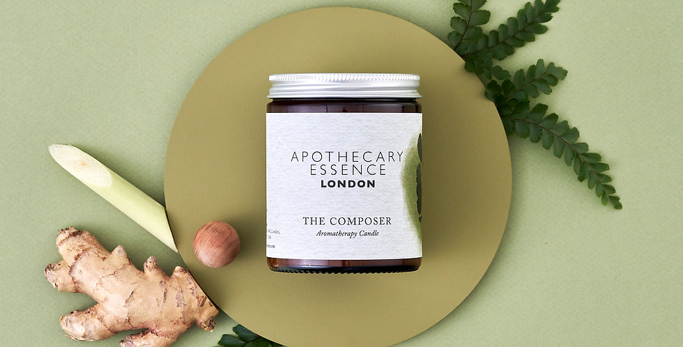 The Composer Candle - Essential Oils and Plastic Free