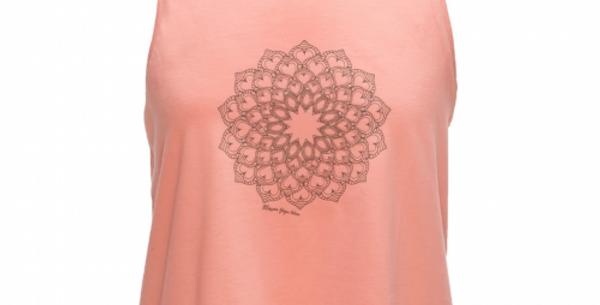Pink Mandala Print Vest - 100% Organic Cotton
