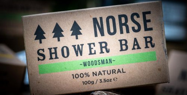 Shower Bar - Woodsman
