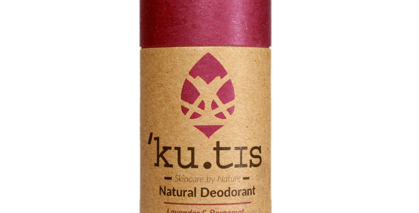 Ku'tis Natural Deodorant - Lavender  & Bergamot
