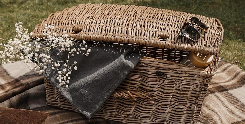 Recycled Wool Blanket in Mackellar Tartan