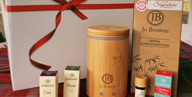 Jo Browne Bamboo Diffuser and Oil Blend