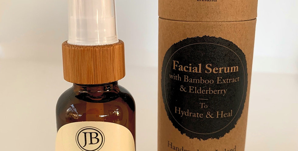 Facial Serum with Bamboo Extract & Elderberry
