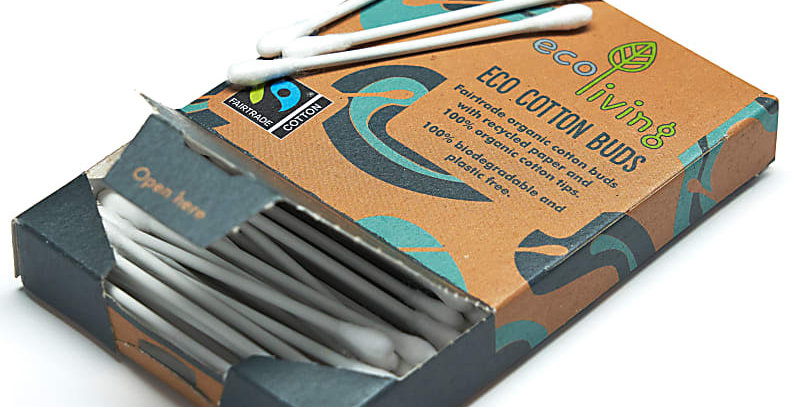 Organic Fairtrade Cotton Buds (FSC Mix 70%)