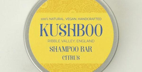 Citrus Shampoo Bar in tin