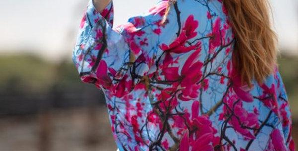 From My Mother's Garden - Hope Magnolia Kimono