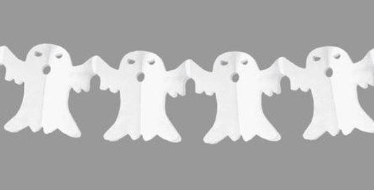 Ghost Garland, White - FSC Certified Paper