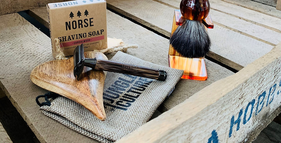Traditional Shaving Gift Set - Worth £65