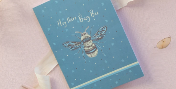 Busy Bee A5 Recycled Notebook