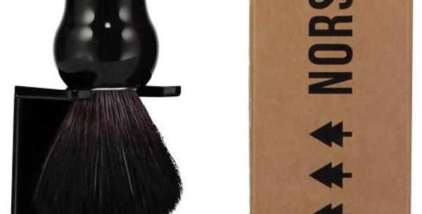 Shaving Brush – Ebony 100% Recycled Plastic