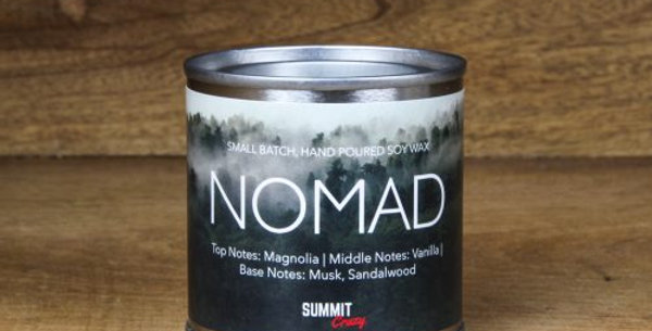 Summit Crazy Mini Tin Candle – Nomad