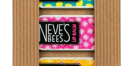 Neve's Bees Bee Happy Lip Balm Gift Box