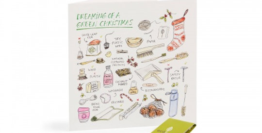 10 Recycled Christmas Cards - 10 Trees Planted (FSC 100%) Zero Waste Swaps