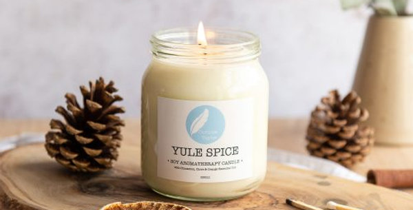 Yule Spice Soy Aromatherapy Candle