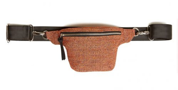 Red Fran Belt Bag - Made from Recycled Materials. 10% Proceeds to SOBS