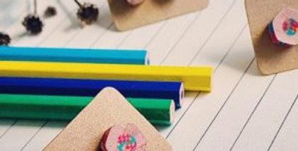 Eco Pencil Earrings