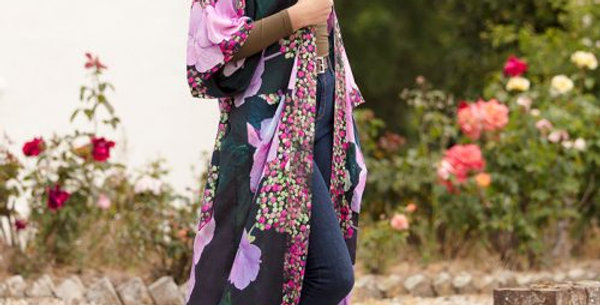 From My Mother's Garden Harmony: Hydrangea Long Robe