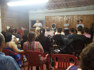 Capacitación R.C.P./ El Mosquito . Av. San Martín 1076 - Mina Clavero -