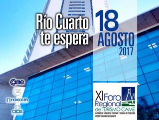 "Rio IV ""Te espera"" XI Foro Regional de Turismo CAME"