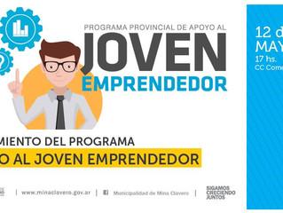Presentación del Programa Joven Emprendedor para la región.