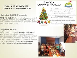 Actividades diciembre 2018