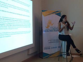 """Consejo Provincial de las Mujeres. Curso """"Desarrollo de capacidades y fortalecimiento de lidera"""