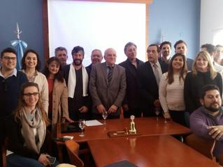 Reunión FCCA - Fabián Tarrio