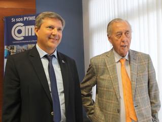 Osvaldo Cornide se reunió con la Comisión Directiva de Fedecom