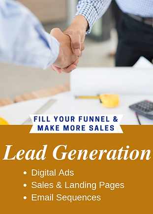 Lead Generation for construction technology: Digital ads, sales and landi g pages, email autoresponders