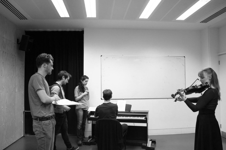 Woyzeck Rehearsal 4