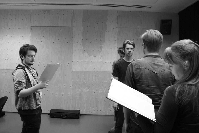 Woyzeck Rehearsal 3