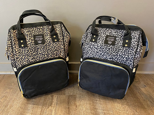 Cheetah Diaper Bag Backpack
