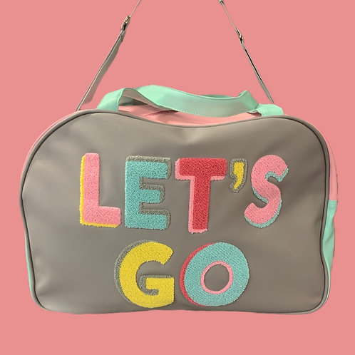 Let's Go Travel Bag