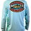 Thumbnail: Fishing Solves Everything Long-Sleeve Tech Shirt
