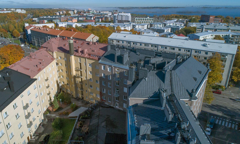 Hämeentie 94, Helsinki, sisäpiha