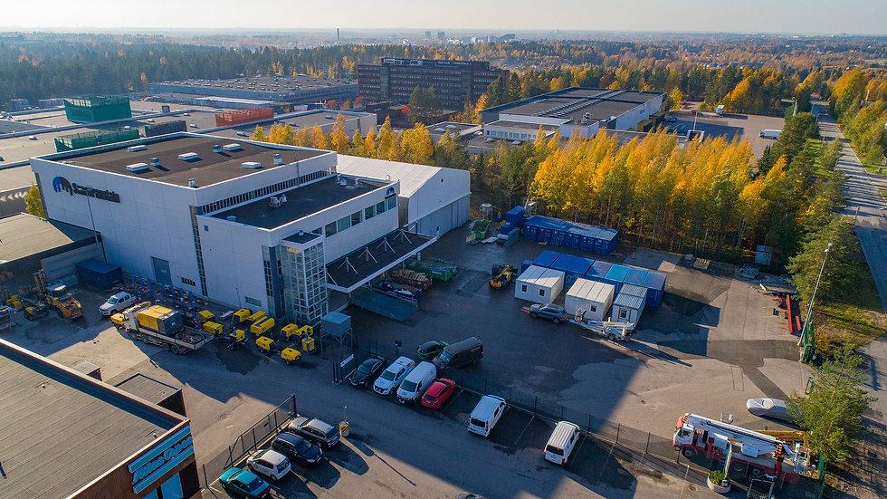 Suomen Saneeraustalon toimitalo Vantaalla