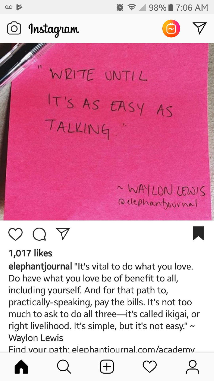 Synchronicity and Signs from the 'Gram
