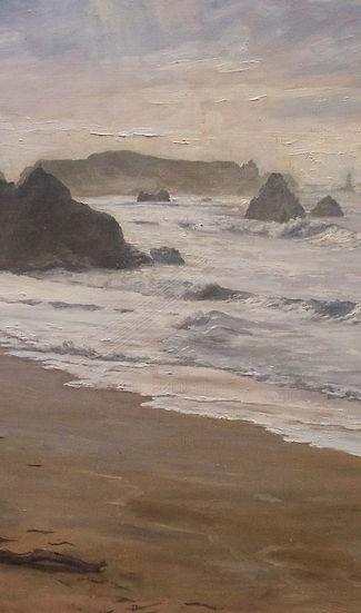 oregon landscape seascape painting ocean