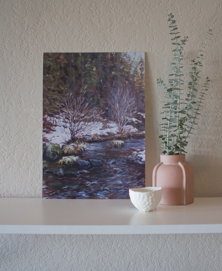 Deschutes River - Limmited Edition Print - Chapman Hamborg Art