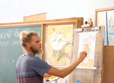 Get Ready For Some FREE ART LESSONS