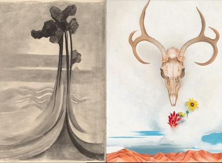 Georgia O'Keeffe Drawing & Painting
