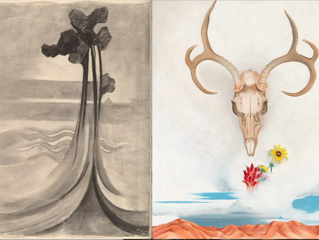 Georgia O'Keeffe Drawing & Painting
