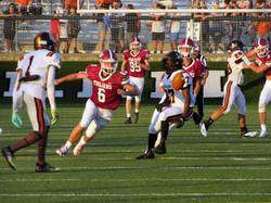 Landon Howard Intercepting The Football