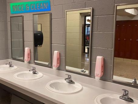West Enjoys Newly Renovated Bathrooms