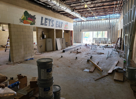 West Cafeteria Construction Continues