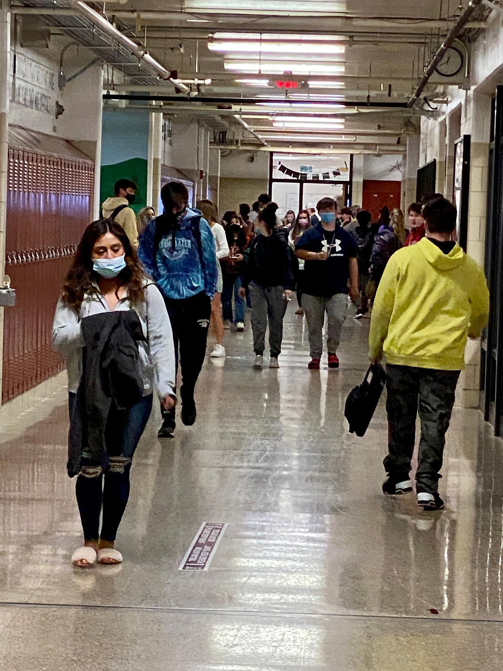 More students have began to fill the halls of West High School