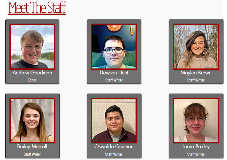 The New Meet The Staff Page Showcasing West Side Story Staff