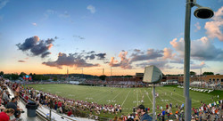 A Panoramic View Of The Field At Burke Tony Stadium