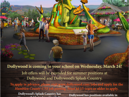 Dollywood Visits West High to Hire Students